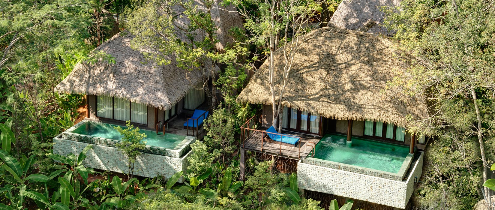 16 ONE AND TWO BEDROOM COTTAGES - Keemala Hotel Phuket