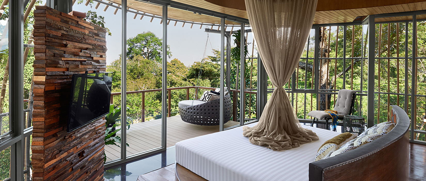BEDROOM WITH A VIEW - Keemala Hotel Phuket